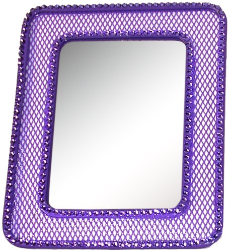 Inkology Glam Rock Mesh Locker Mirror, 591-9