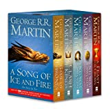 George R. R. Martin A Song of Ice and Fire - A Game of Thrones: The Story Continues: A Song of Ice and Fire: Volumes 1-4 (A Game of Thrones / A Clash of Kings / A Storm ... Swords: Blood and Gold / A Feast for Crows)