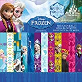 Disney Frozen 12-Inch by 12-Inch Mega Paper Pad, 150 Piece Set, 50 Different Designs