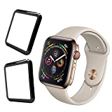 Beegod iWatch Screen Protector (Series 3/2 / 1 Compatible) [2 Pack], Max Coverage Screen Protector for iWatch 42 mm Series 3/2/1 - HD Clear Anti-Bubble Anti-Scratch (42mm) (Color: 42mm)