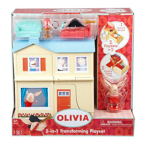 Olivia 2-In 1 Playset
