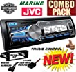 96-2013 Marine Harley Touring Stereo Radio Install Adapter Dash Kit Flht Flhx Flhtc JVC