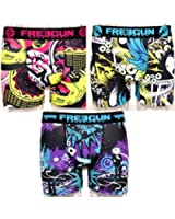 LOT DE 3 BOXERS FREEGUN HOMME T.S (selon arrivage)