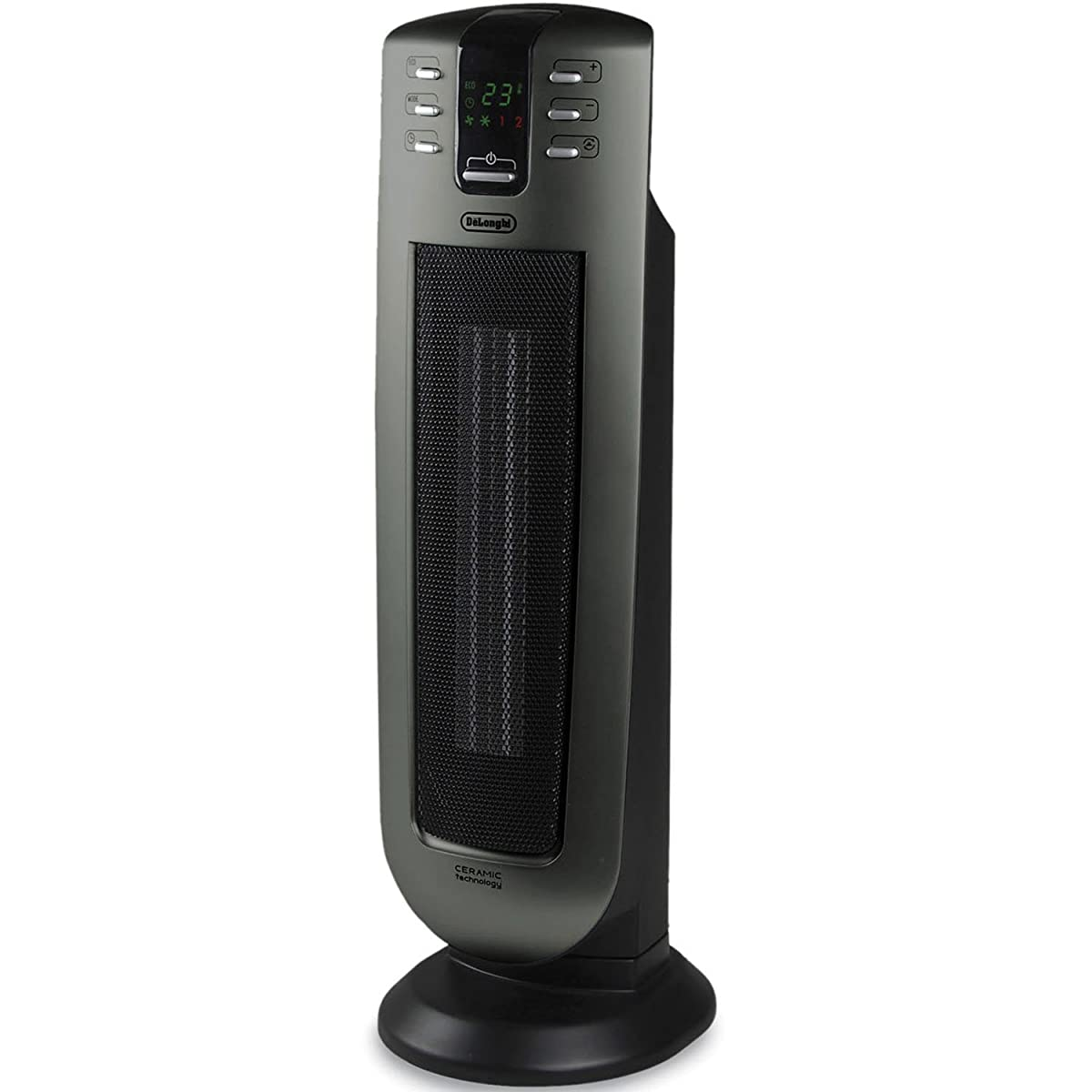 De'Longhi TCH7090ERD Safe Heat 1500W Ceramic Tower Heater with Remote control and ECO setting