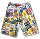 Disney Comic Strip Denim Shorts New Mens