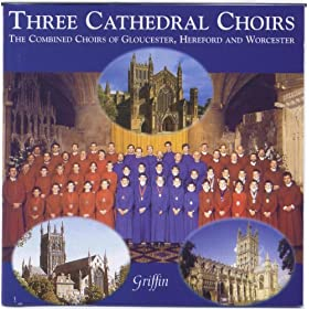 Amazon Com Three Cathedral Choirs For The 1999 Festival