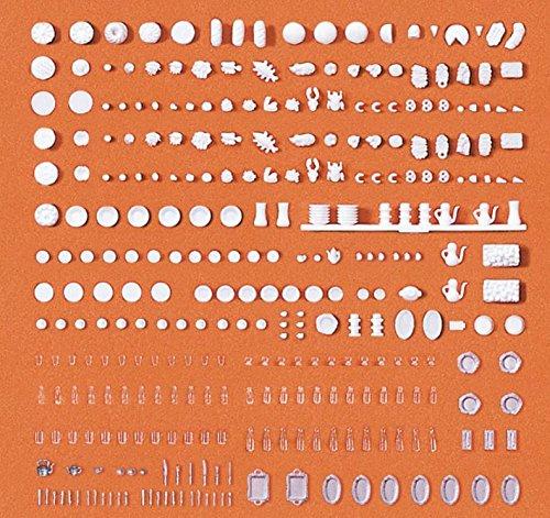 Preiser-M-187-Geschirr-und-Speisen-Spielzeug
