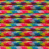 Paracord Planet Nylon 550lb Type III 7 Strand Paracord Made in the U.S.A. -Confetti -