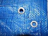 Lightweight economy tarpaulin ,waterproof ground sheet 2m x 3m