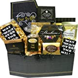 Over The Hill Birthday Celebration Gift Box of Gourmet Food Treats