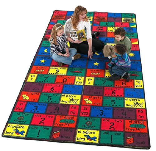 Flagship Carpets Amigos Style Educational Rugs, AMI36