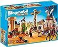 Playmobil Oeste - Campamento indio con tótem (5247)