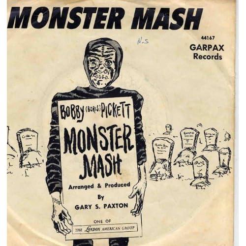 BOBBY (BORIS) PICKETT - monster mash 45 rpm single