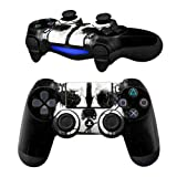 MODFREAKZ Pair of Vinyl Controller Skins - Ghost Mask Fighting for Playstation 4