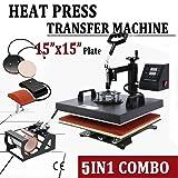 5 in 1 Heat Press Machine for T-Shirts 15