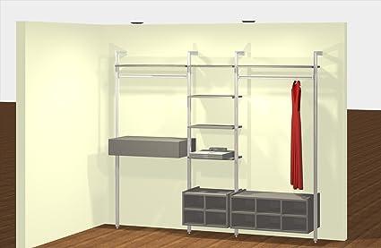 Home Organisation - Relax Wardrobe Storage Unit in Linen Effect