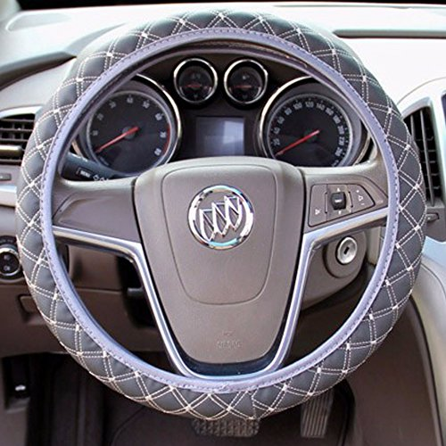 Steering Wheel Cover Gray 15