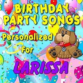 Amazon.com: Happy Birthday to Larissa (Laryssa, Laurissa
