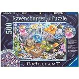 Ravensburger 14864 - Gelini: Gelini a. Schatzsuche - 500 Teile Brilliant-Puzzle