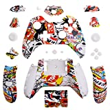 Extremerate Hydro Dipped Sticker Bomb Full Housing Shell With Buttons For Xbox One Controller