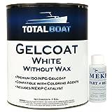 TotalBoat Gelcoat (White, Gallon No Wax) (Color: White, Tamaño: Gallon No Wax)