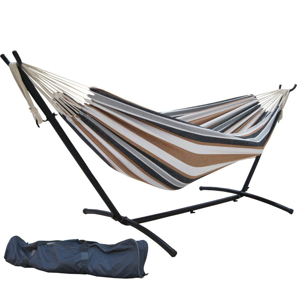 Space Saving Double Hammock On Lightning Deal At 5 30 Pm Est Coupon Karma