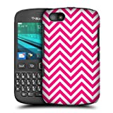 Head Case Pink Neon Chevron Protective Hard Back Case Cover For Blackberry 9720