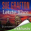 Letzte Ehre: [L wie Leichtsinn] (Kinsey Millhone 12) Hörbuch von Sue Grafton Gesprochen von: Gabriele Blum