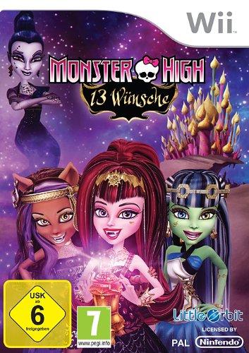 Monster High: 13 Wünsche, Nintendo Wii