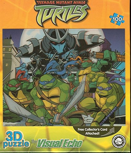 Teenage Mutant Ninja Turtles TMNT Lenticular Puzzle 100 ...