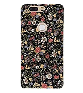Flowers Artist Wall 3D Hard Polycarbonate Designer Back Case Cover for Huawei P8