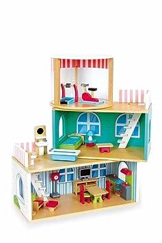 Jouetprive-Maison de poupée Victoire