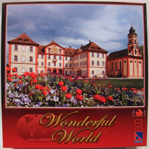 Wonderful World 500 Piece Jigsaw Puzzle: Castle, Germany