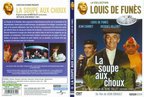 Jacquette du film La Soupe au Choux