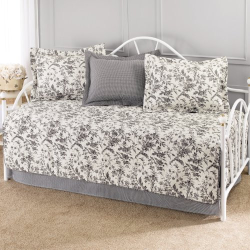 Laura Ashley Amberley 5-Piece Cotton Daybed/Quilt Set