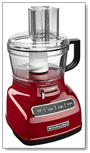 KitchenAid KFP0722ER 7-Cup Food Processor with Exact Slice System Review