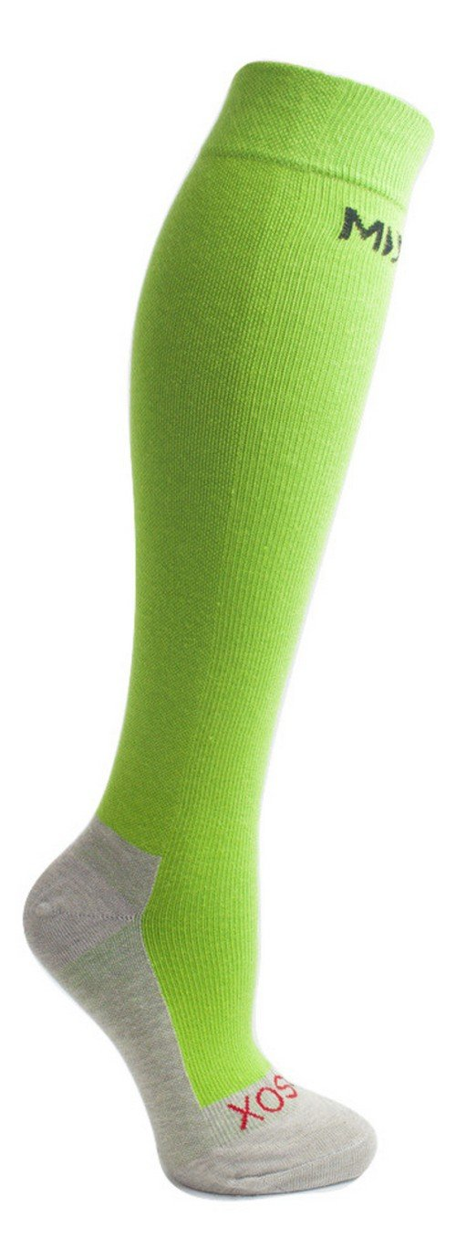 MDSOX Graduated Compression Socks, Green, Medium