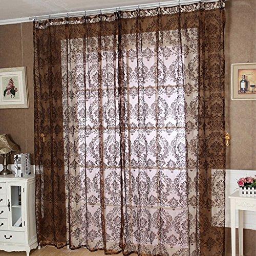 WensLTD European Classical Style Sheer Window Curtain