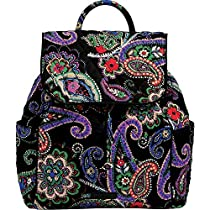 Vera Bradley Drawstring Backpack (Kiev Paisley)