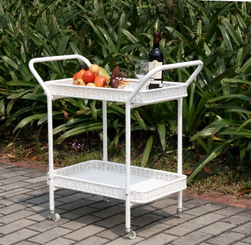 Wicker Lane Outdoor White Wicker Patio Furniture