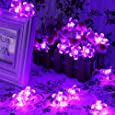 Innoo Tech Indoor Battery Operated Fairy Lights 40 Led String Light Flower for Outdoor, Party(Purple)
