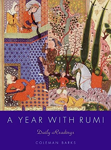 A Year with Rumi: Daily Readings (Rumi By Coleman Barks compare prices)