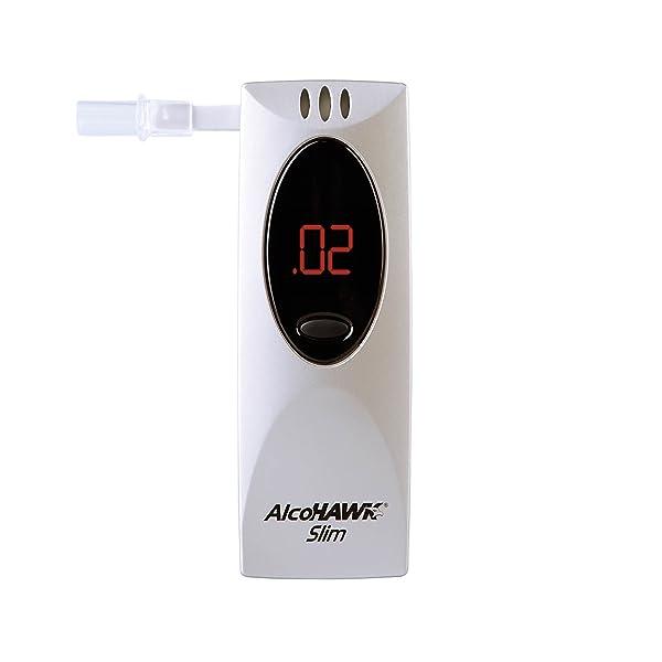 AlcoHAWK Slim Breathalyzer, Semi-Conductor Sensor Breath