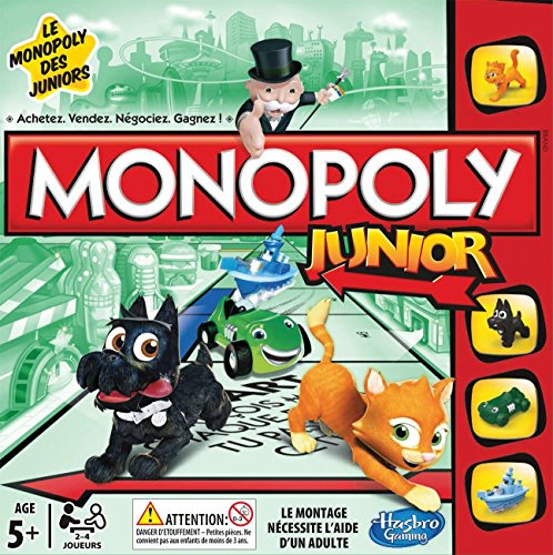 Hasbro - Monopoly Junior Refresh (versione in Francese)