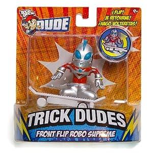 Front Flip Robo Supreme: Tech Deck Dude Trick Dudes Figure Series