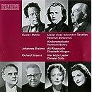 Music of Mahler & Brahms & Strauss