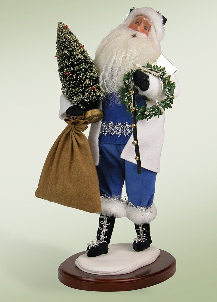 Walking In A Winter Wonderland Santa Claus Christmas Caroler Figure 18
