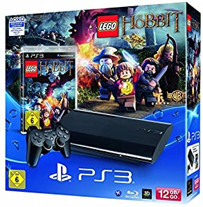 PlayStation 3 12GB inkl. Lego: Der Hobbit