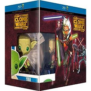 Star Wars - The Clone Wars - L'intégrale - Saisons 1 à 5 [+ figurine Pop!