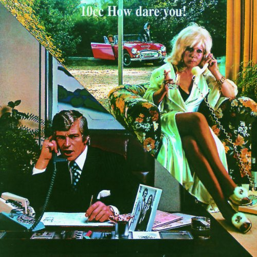10cc How Dare You cd cover